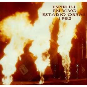 ESPIRITU - Live en obras 82 - Cd