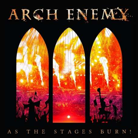 ARCH ENEMY - As The Stages Burn - Cd / Dvd