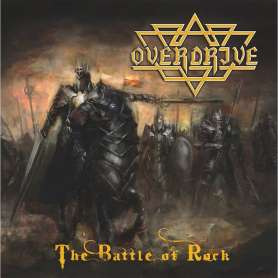 OVERDRIVE - The battle of rock - Cd