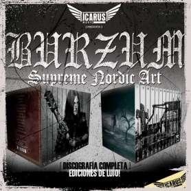 BURZUM - Discografia completa 13 CD'S - BOXES