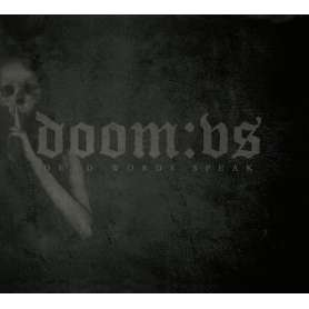 DOOM:VS - Dead Words Speak - Cd Slipcase