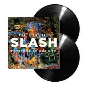 SLASH  -2LP -  World On Fire