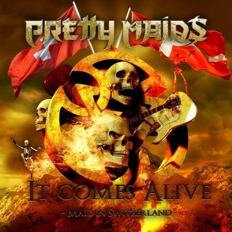 PRETTY MAIDS  - It Comes Alive 2 Cd + Dvd