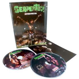 SERPENTOR - Autodestruccion - DVD + Cd Digipack