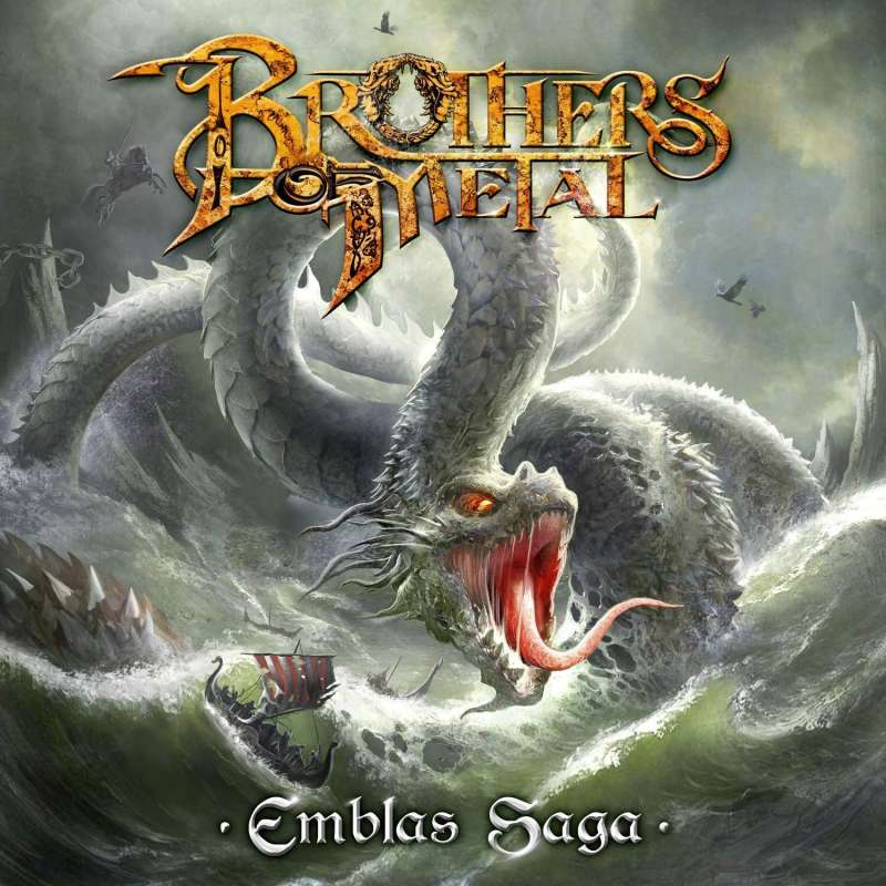 BROTHERS OF METAL - Emblas Saga - Cd