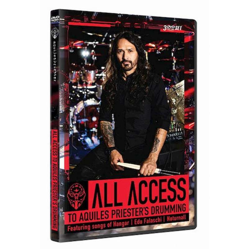 AQUILES PRIESTER - All Access To Aquiles Priester - 3DVD