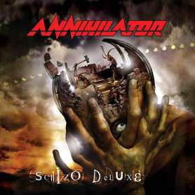 ANNIHILATOR - Schizo deluxe - Cd