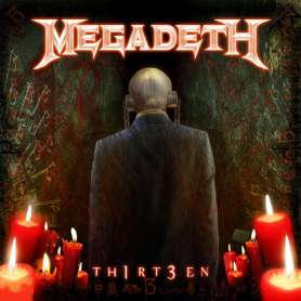 MEGADETH - Th1rt3en - CD