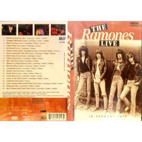 RAMONES - Live In Germany 1978 - DVD