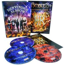 RENACER - Bienvenidos al show - 2Cd +  DVD