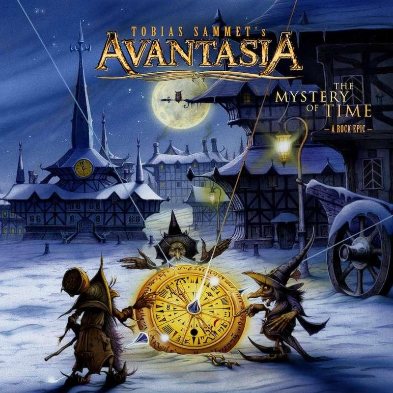 AVANTASIA - The Mystery Of Time - Cd