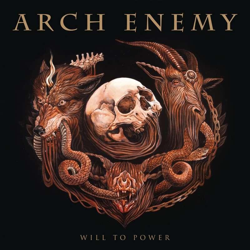 ARCH ENEMY - will to power - Bonus track -Cd