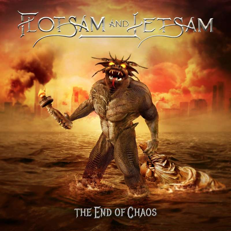 FLOTSAM AND JETSAM - The End Of Chaos - Cd Slipcase
