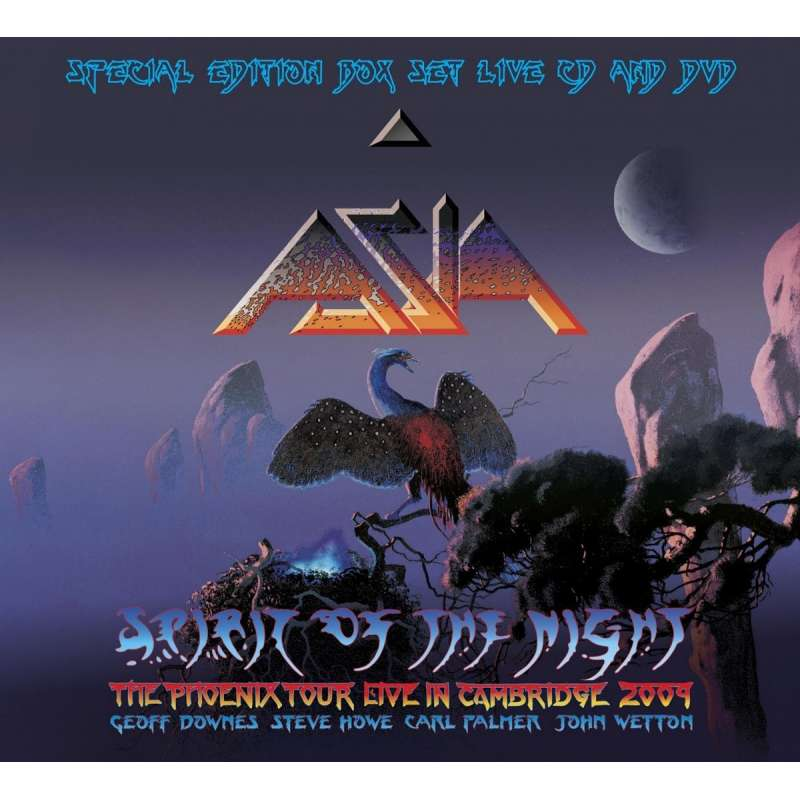 ASIA - Spirit of the night - DVD
