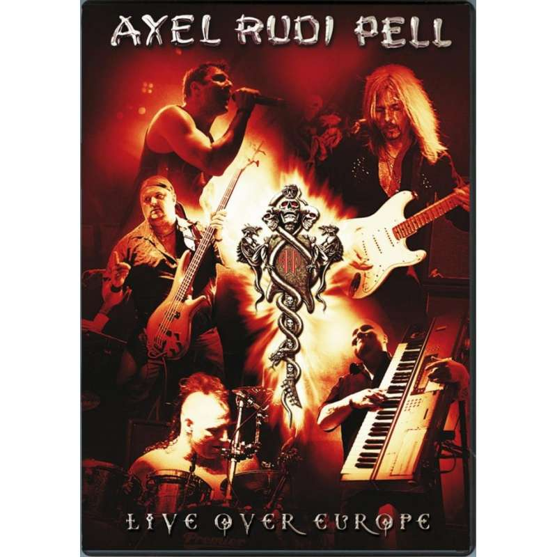AXEL RUDI PELL - Live over Europe - 2 DVD