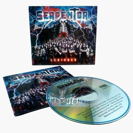 SERPENTOR - Legiones - CD