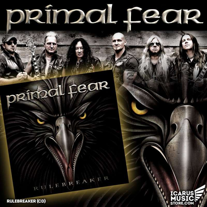 PRIMAL FEAR - Rulebreakear - Cd