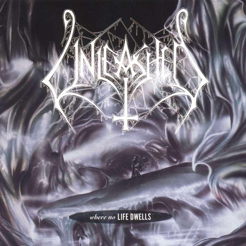 """UNLEASHED - Where life dwells & And the Laughter Has Died 7"""" EP + Demo Tracks"""""""