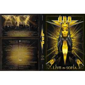 UDO - Live In Sofia 2 CD + DVD