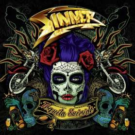 SINNER - Tequila Suicide - CD