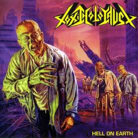 TOXIC HOLOCAUST - Hell On Earth - Cd