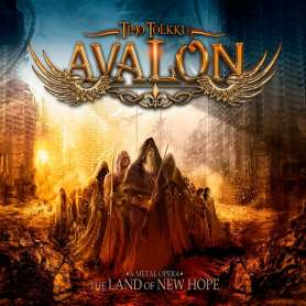 TIMO TOLKKI´S AVALON - The Land of New Hope CD + DVD