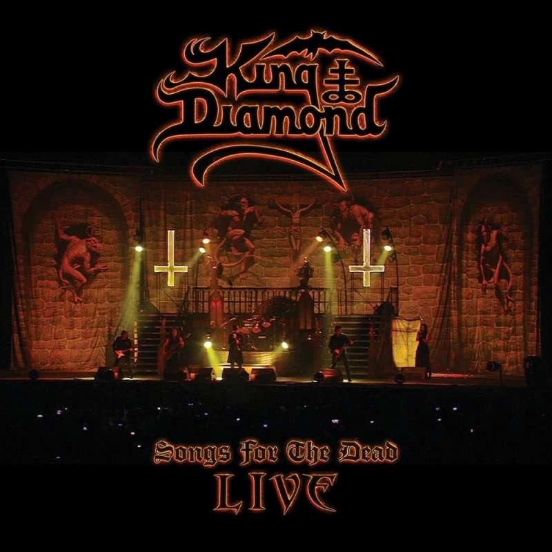King Diamond - Songs For The Dead Live - 1cd/2dvd Digipack