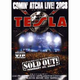 TESLA - Comin' atcha live! 2008 - DVD