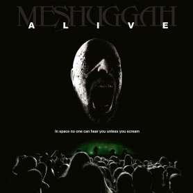 copy of MESHUGGAH - Alive - CD + DVD
