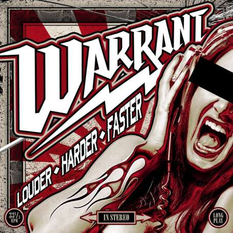 WARRANT - Louder Harder Faster - Cd