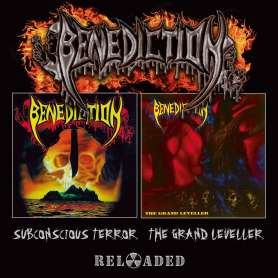 BENEDICTION - Subconscious terror + The grand leveller - 2Cd