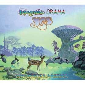 YES  - Topographic Drama - Live Across America - 2cd Digipack
