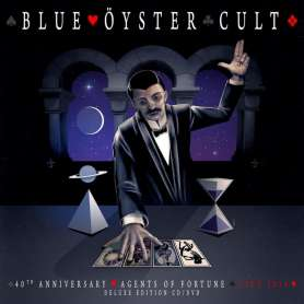 BLUE OYSTER CULT - 40th Anniversary - Agents Of Fortune - Cd/DVD