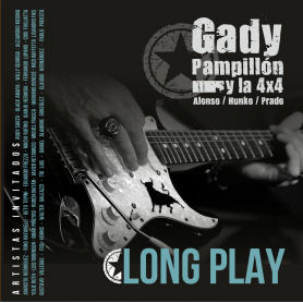 GADY PAMPILLON Y LA 4X4 - Long Play - Cd
