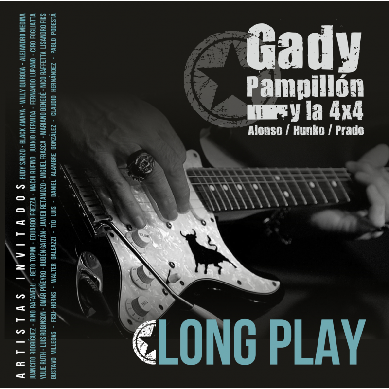 GADY PAMPILLON Y LA 4X4 - Long Play - Cd