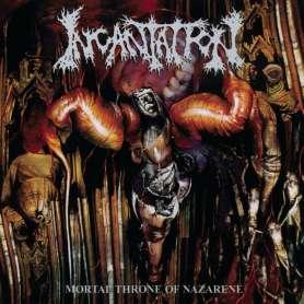 INCANTATION - Mortal Throne of Nazarene - cd