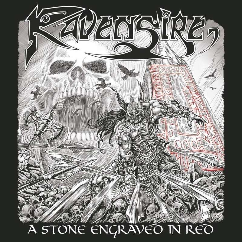 RAVENSIRE - LP - A stone engraved in red