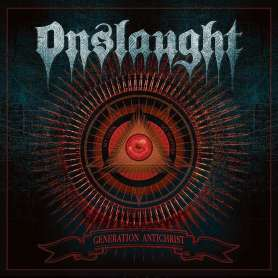 Onslaught - Generation Antichrist - Cd ( Jewel Case ) Deluxe