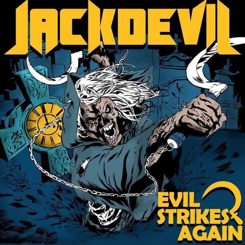 JACKDEVIL - Evil Strikes Again ( Digipack )