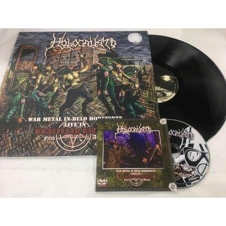 HOLOCAUSTO - Lp/dvd - War Metal In Belo Horizonte Brazilian