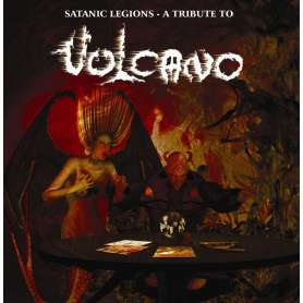 VULCANO  - Satanic Legions - A Tribute to... - Cd