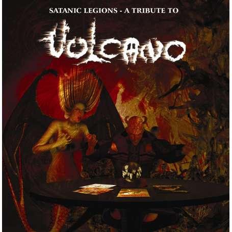 VULCANO  - Satanic Legions - A Tribute to... - Cd