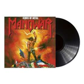 MANOWAR - Kings o metal - Vinilo