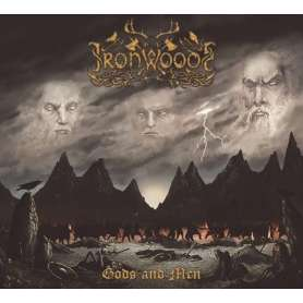 Iron Woods - Gods And Men - Cd Digipack