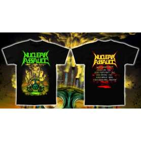 NUCLEAR ASSAULT - Remera Tour 2019 - Modelo 1