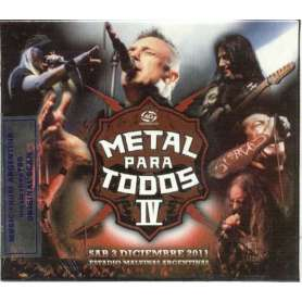 METAL PARA TODOS IV CD