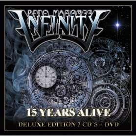 BETO VAZQUEZ INFINITY  - 15 Years Alive - 2 CDS + DVD EDICION LIMITADA