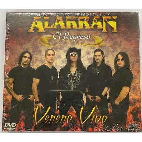 ALAKRAN -  Veneno Vivo - Cd + DVD Slipcase
