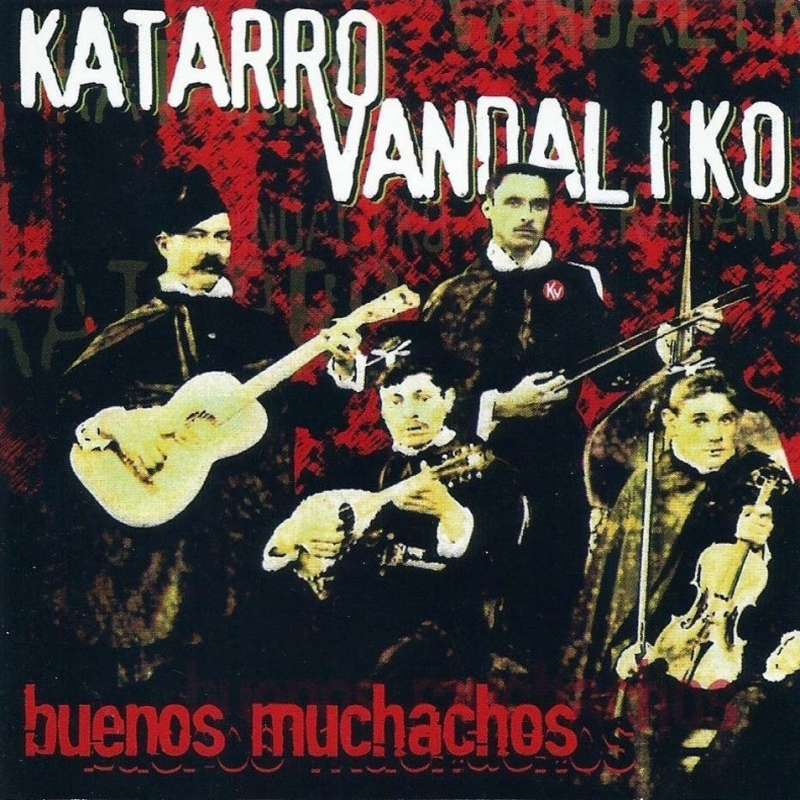 Katarro Vandaliko - Lp - Buenos Muchachos