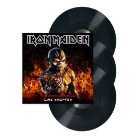 IRON MAIDEN - 3LP - The Book Of Souls: Live Chapter
